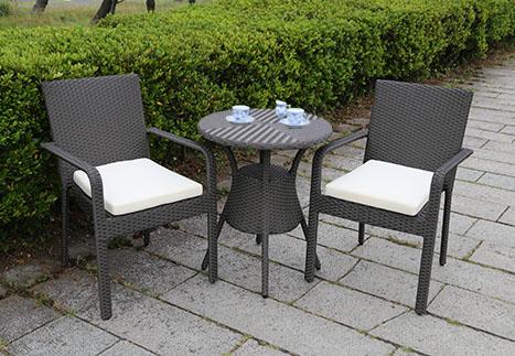テーブル60/ガーデンアームチェア