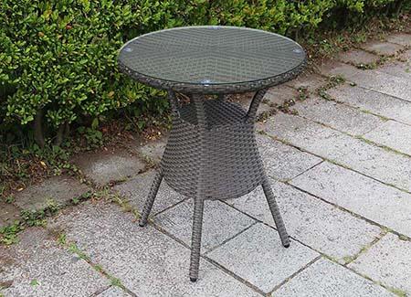 ガーデンテーブル60ガラス天板