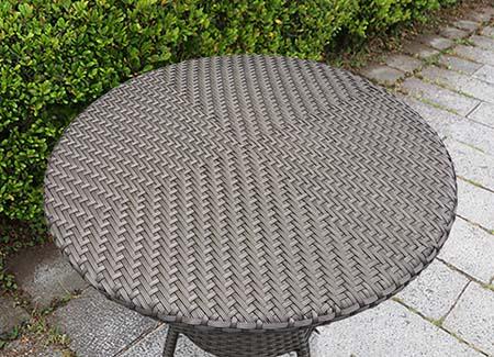 人工ラタン 外用ガーデンテーブル