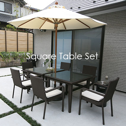 Square Table Set