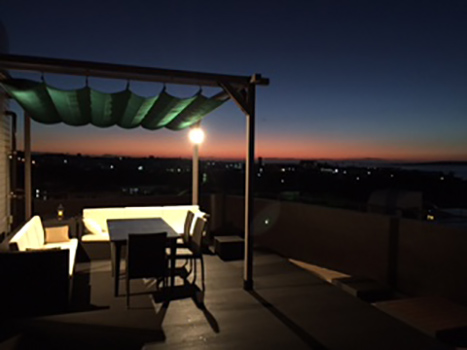 3人掛けソファ・スクエアテーブルテーブル90・ガーデンチェア