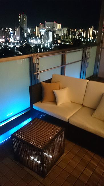 2人掛けソファ サイドテーブルキューブ